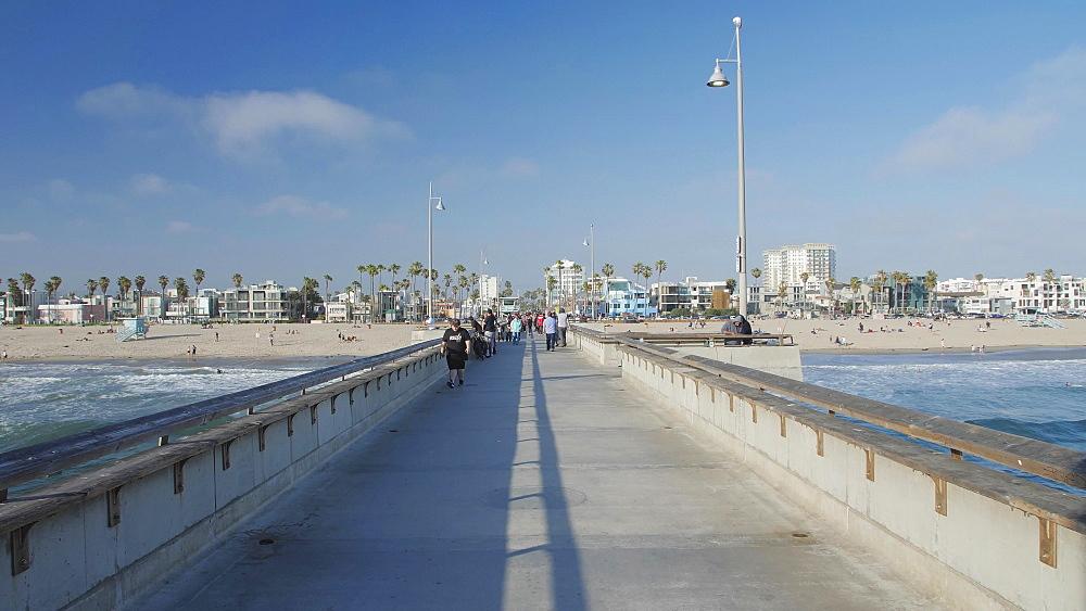 Venice Beach, Sant Monica, Los Angeles, LA, California, USA, North America - 1276-982