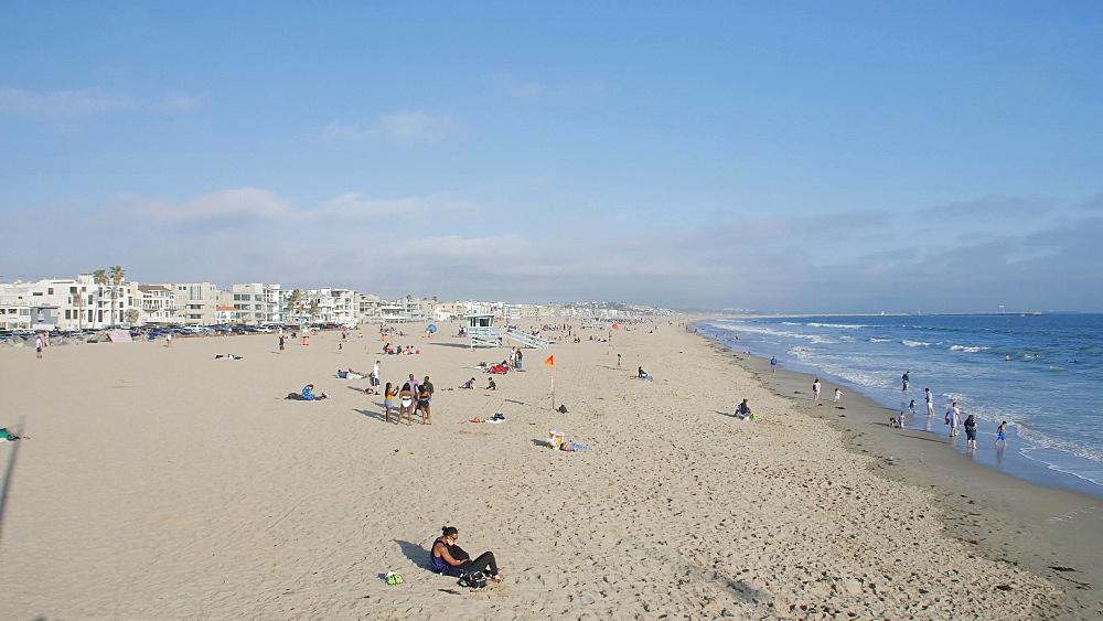 Venice Beach, Sant Monica, Los Angeles, LA, California, USA, North America - 1276-983