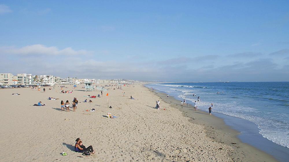 Venice Beach, Sant Monica, Los Angeles, LA, California, USA, North America - 1276-985