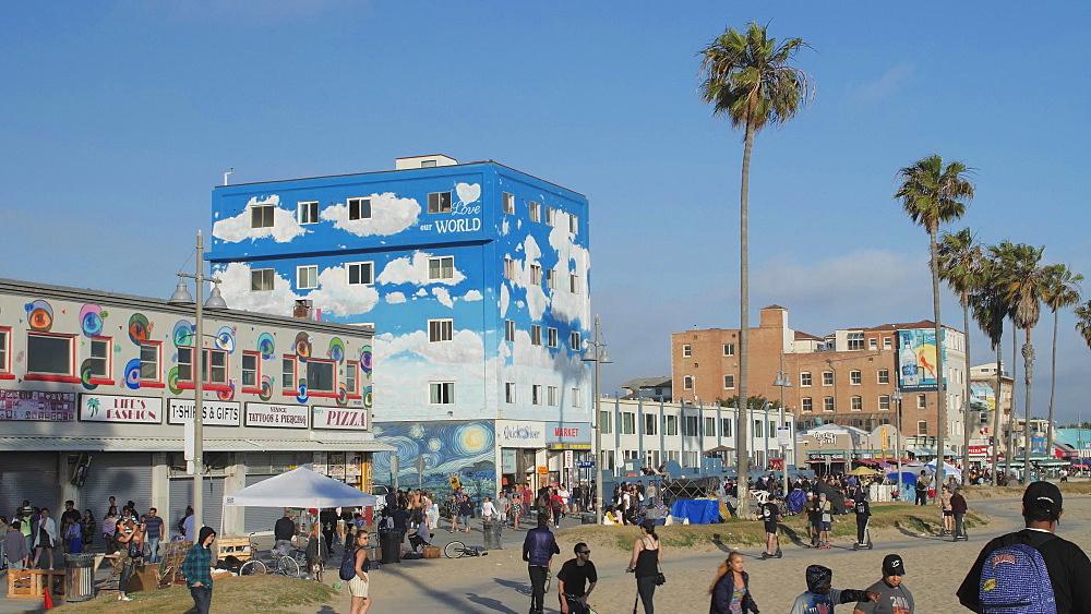 Venice Beach, Sant Monica, Los Angeles, LA, California, USA, North America - 1276-989