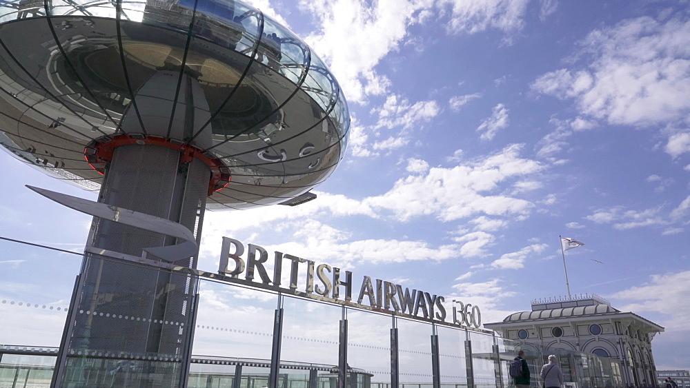 Brighton Attraction, British Airways i360, Brighton, East Sussex, UK - 1327-37