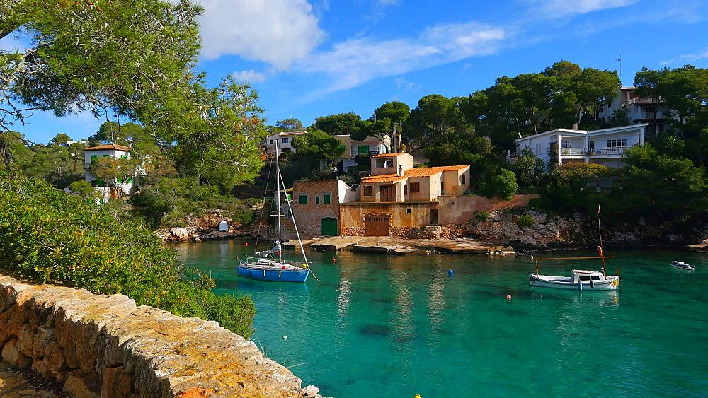 Bay of Cala Figuera, Mallorca (Majorca), Balearic Islands, Spain, Mediterranean, Europe - 396-10005