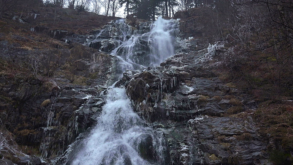 Todtnauer Waterfall, South Black Forest, Schwarzwald, Baden-Wuerttemberg, Germany - 396-10155