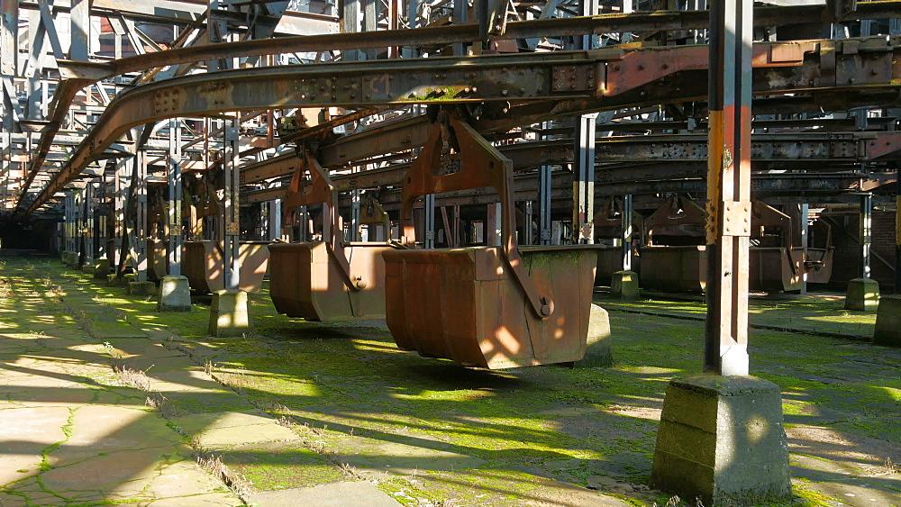 Voelklinger Huette, Voelklingen Ironworks, UNESCO World Heritage Site, Voelklingen, Saarland, Germany, Europe - 396-10216