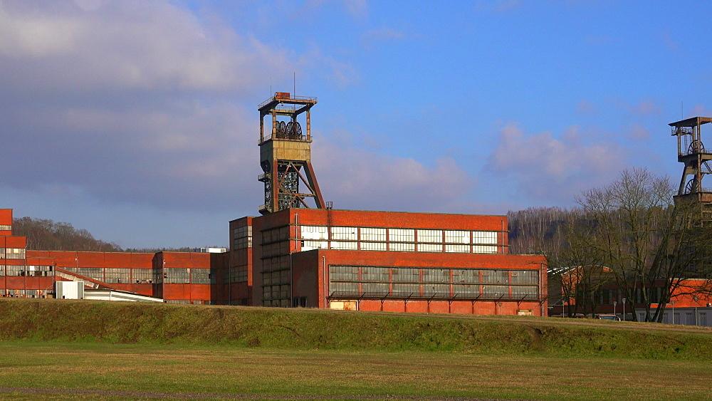 Mining Museum Les Mineurs Wendel, Petite-Rosselle, Lorraine, France, Europe - 396-10222
