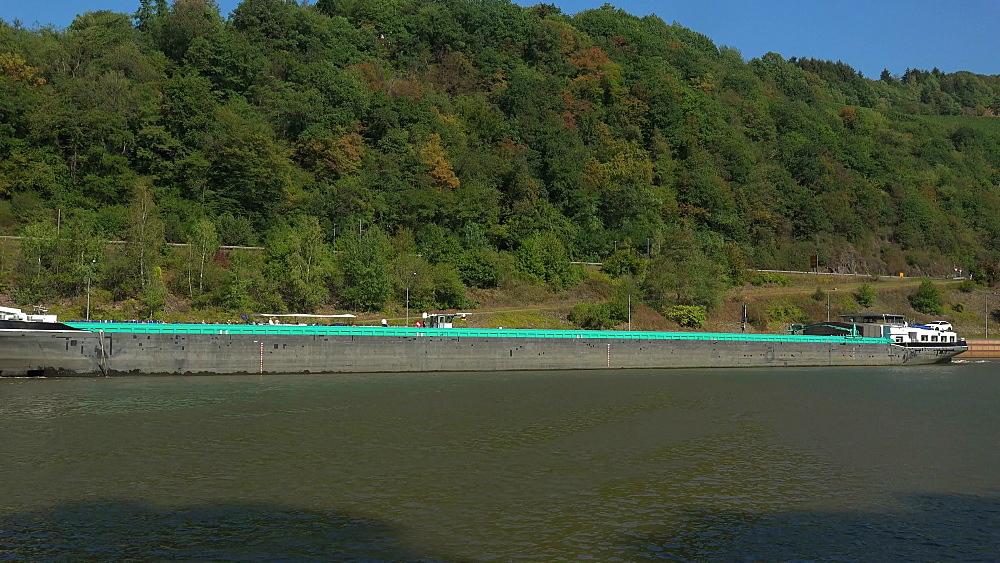 Saar River near the lock of Serrig, Saar Valley, Rhineland-Palatinate, Germany - 396-10529