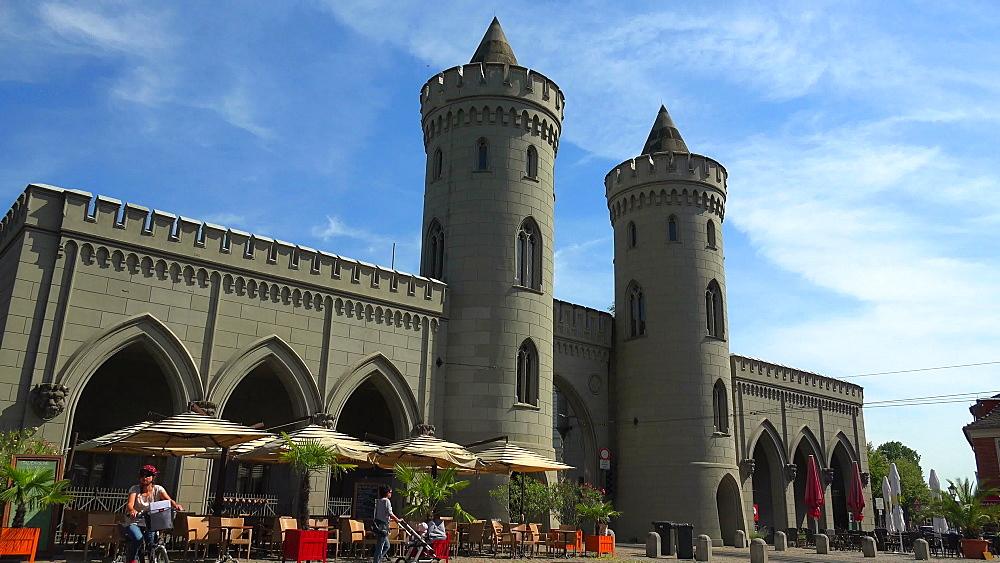 Nauen Gate, Nauener Tor, Potsdam, Brandenburg, Germany, Europe