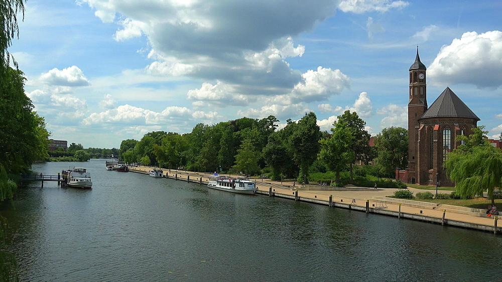 Brandenburg on Havel River, Brandenburg, Germany, Europe