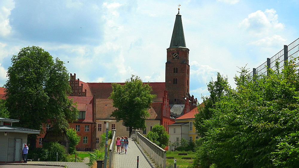 Brandenburg on Havel River, Cathedral of St. Peter and Paul, Brandenburg, Germany, Europe