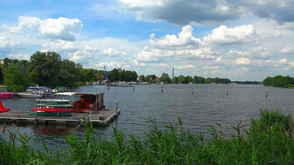 Island Town of Werder an der Havel, Mittelmark, Brandenburg, Germany, Europe