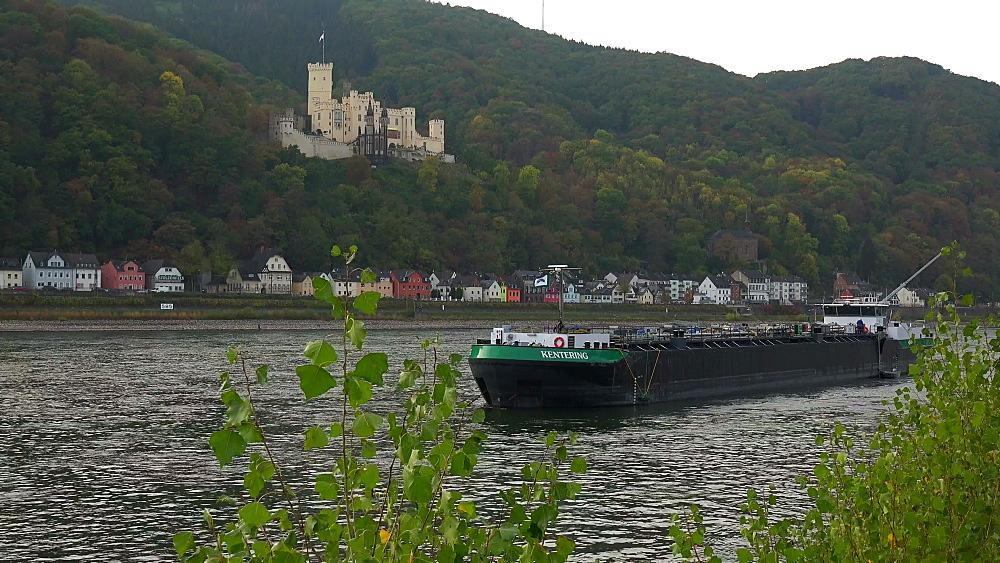Stolzenfels Castle in Stolzenfels near Koblenz, Rhine Valley, Rhineland-Palatinate, Germany - 396-10619