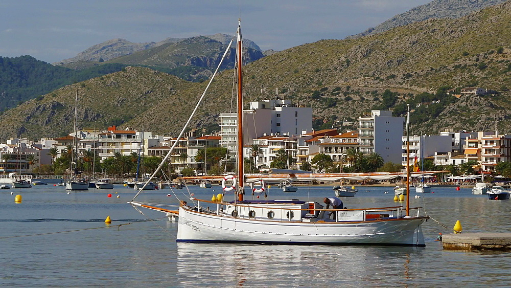 Puerto Pollensa, Mallorca, Balearic Islands, Spain, Mediterranean, Europe
