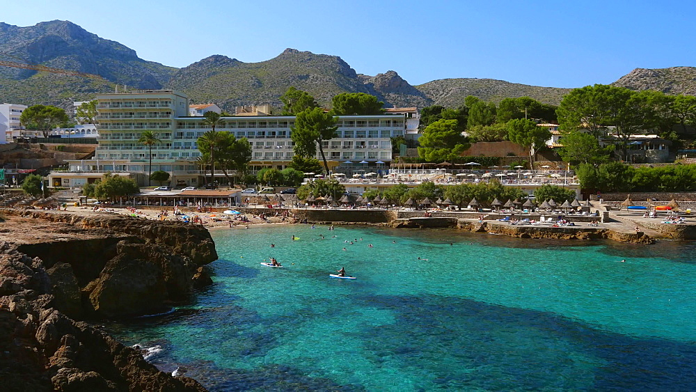 Cala Molins in Cala San Vicente, Mallorca, Balearic Islands, Spain, Mediterranean, Europe