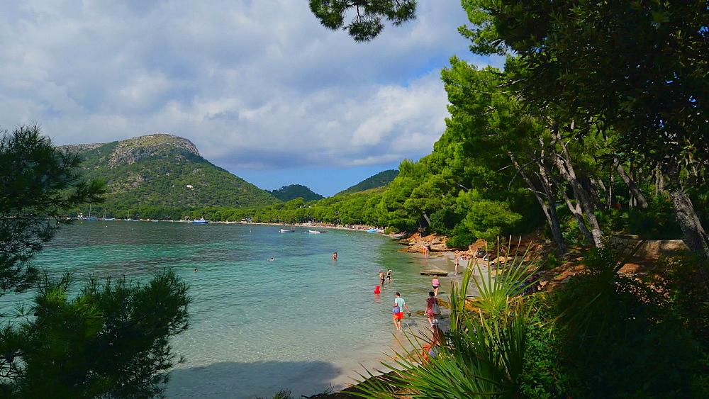 Cala Pi de la Posada, Formentor, Mallorca, Balearic Islands, Spain, Mediterranean, Europe
