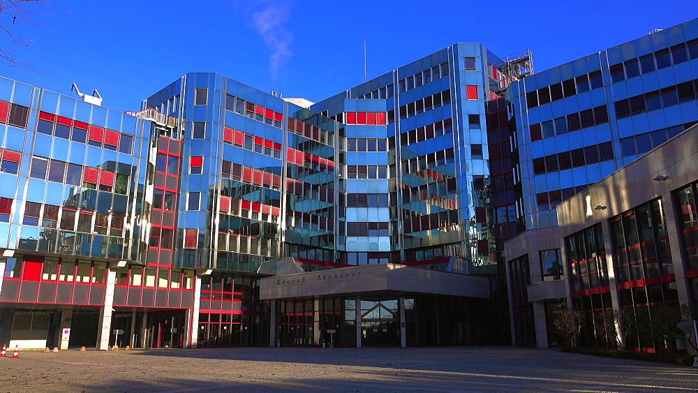 European Parliament at Kirchberg, Luxembourg City, Grand Duchy of Luxembourg, Europe