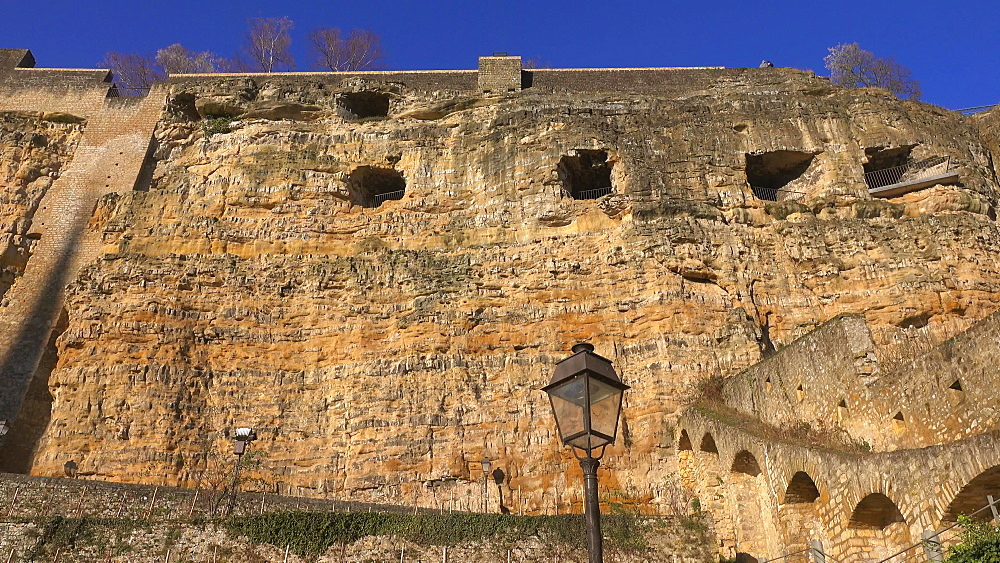 Bock Casemates, Luxembourg City, Grand Duchy of Luxembourg, Europe
