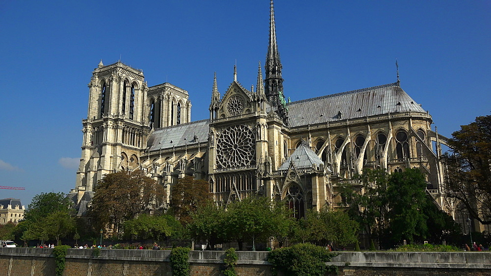 Cathedral Notre Dame, UNESCO World Heritage Site, Paris, France, Europe - 396-5807