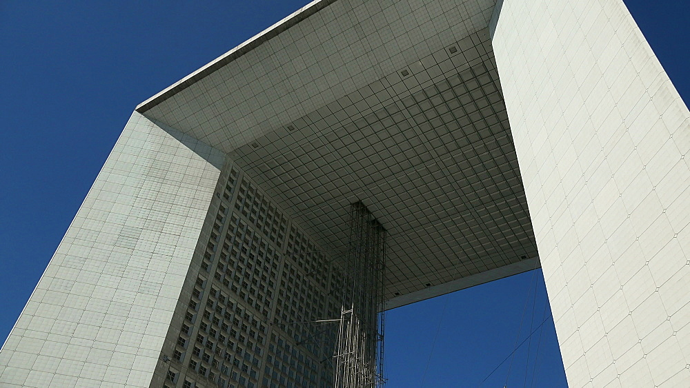 La Grand Arche, La Defense, Paris, France, Europe - 396-5960