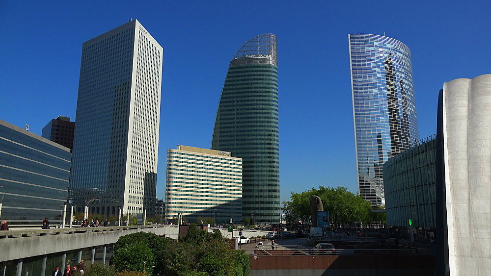 La Defense, Paris, France, Europe - 396-5961