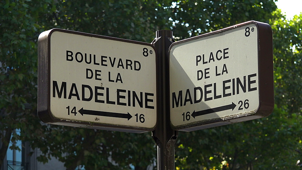 Traffic signs, Paris, France, Europe - 396-5998