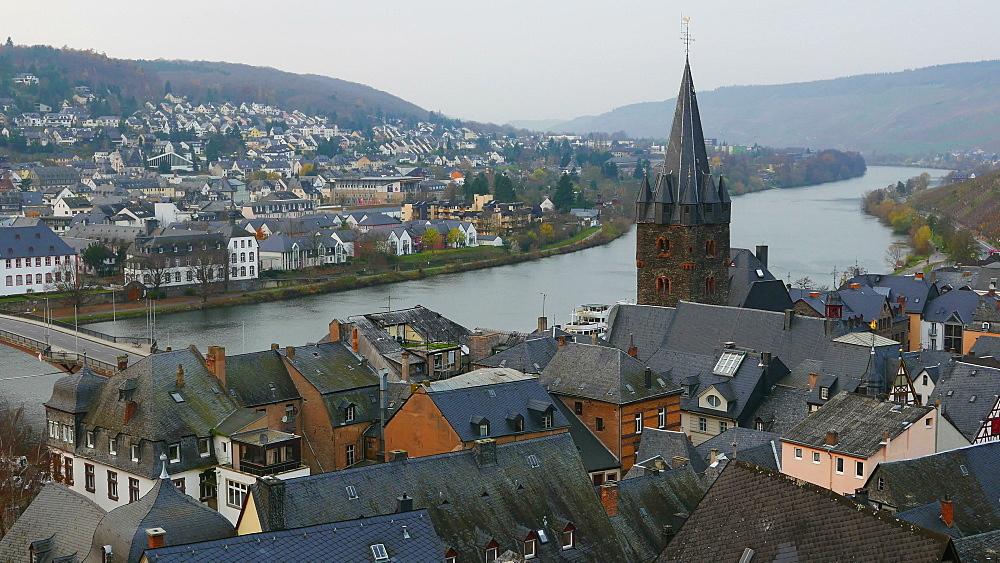 Bernkastel-Kues, Moselle River, Germany - 396-6062