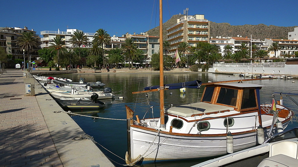 Puerto Pollenca, Balearic Islands, Spain, Mediterranean, Europe - 396-6201