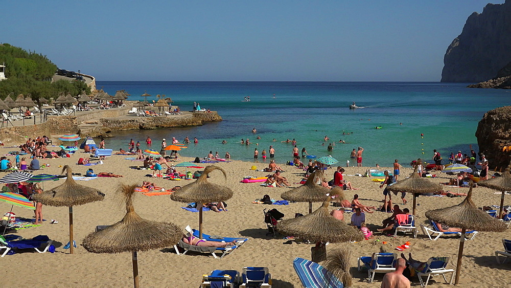 Cala San Vicente, Majorca, Balearic Islands, Spain, Mediterranean, Europe