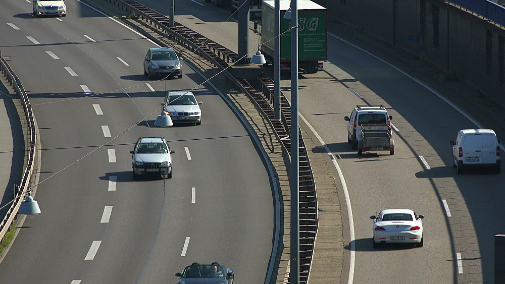 City Highway A620, Saarbrucken, Saarland, Germany, Europe - 396-6270