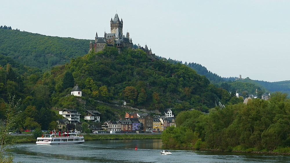 Cochem Imperial Castle, Cochem, Moselle River, Germany - 396-6279