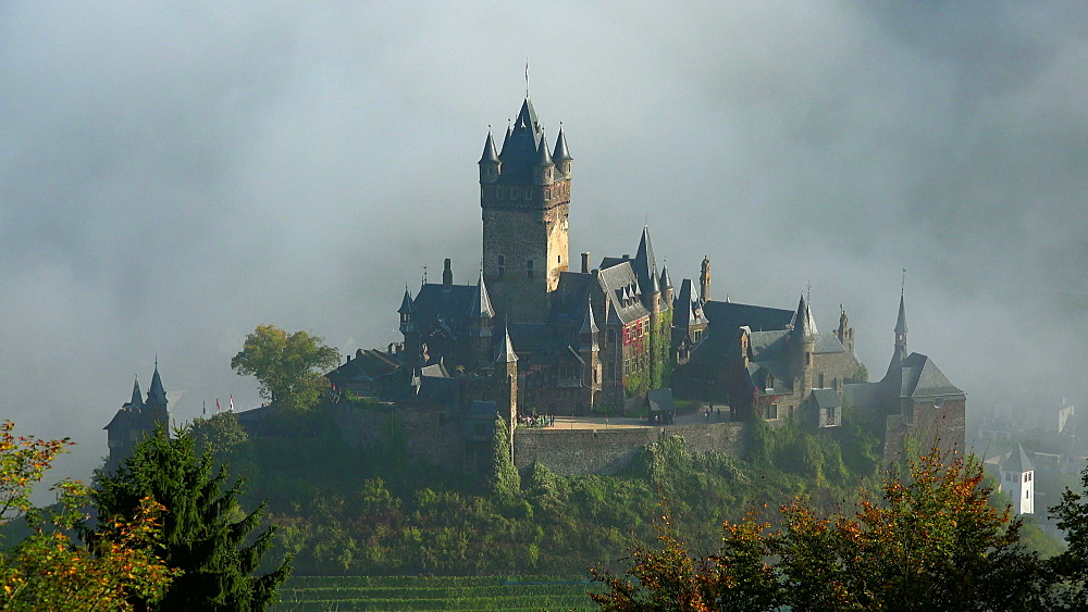 Cochem Imperial Castle, Cochem, Moselle River, Germany - 396-6324