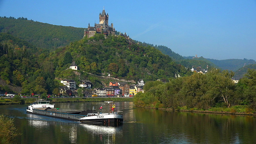 Cochem Imperial Castle, Cochem, Moselle River, Germany - 396-6330