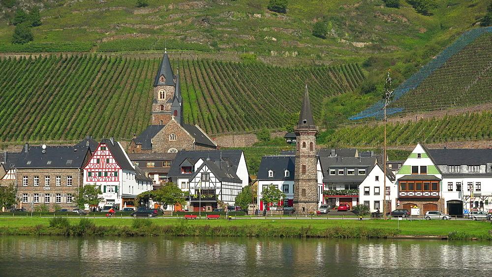 Hatzenport, Moselle River, Germany - 396-6333