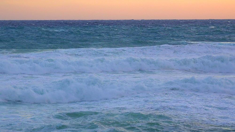 Heavy sea at Cala Molins, Cala San Vicente, Majorca, Balearic Islands, Spain, Mediterranean, Europe
