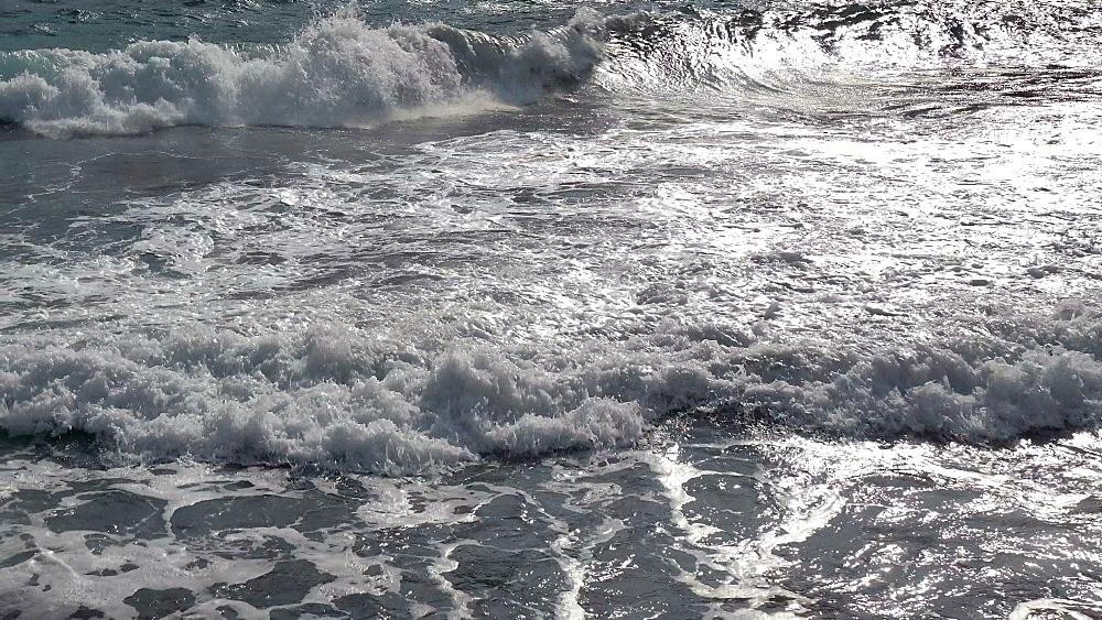 Surf at Cala Molins, Cala San Vicente, Majorca, Balearic Islands, Spain, Mediterranean, Europe