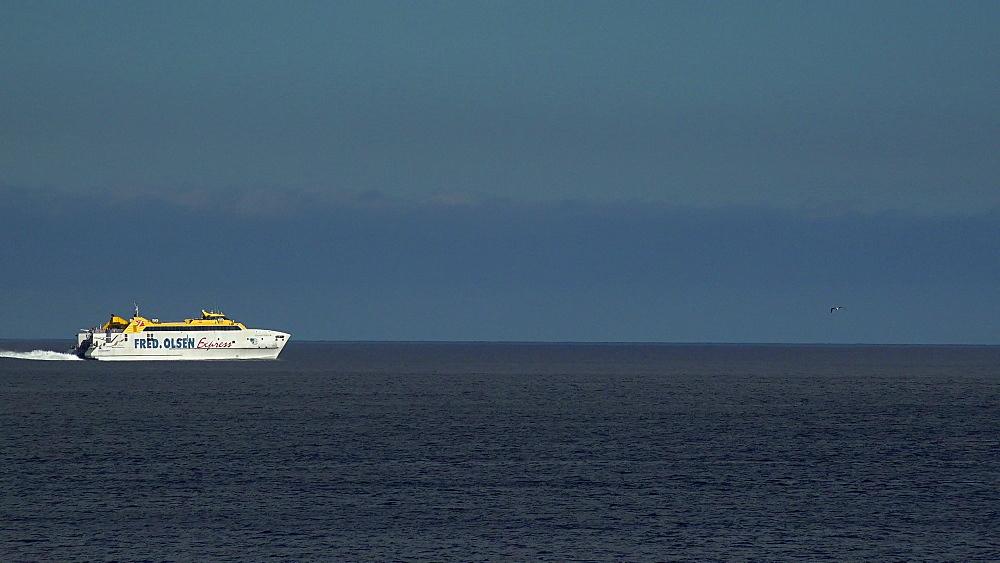Ferry to Fuerteventura near Playa Blanca, Lanzarote, Canary Islands, Spain, Atlantic, Europe