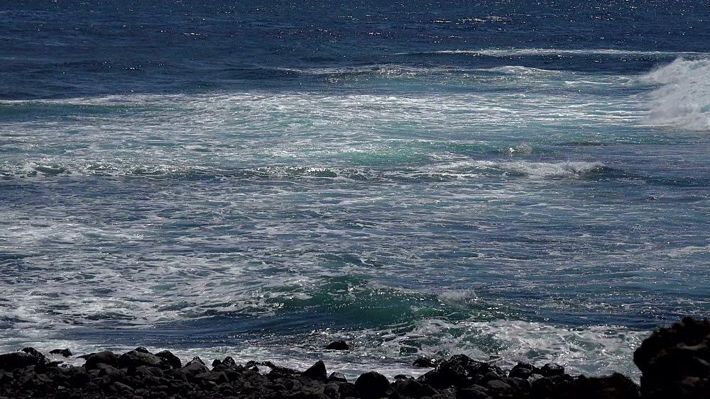 Coast near Los Hervideros, Lanzarote, Canary Islands, Spain, Atlantic, Europe