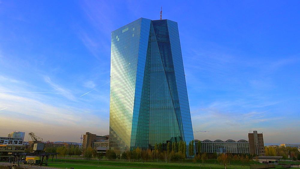 European Central Bank, Frankurt am Main, Hesse, Germany, Europe