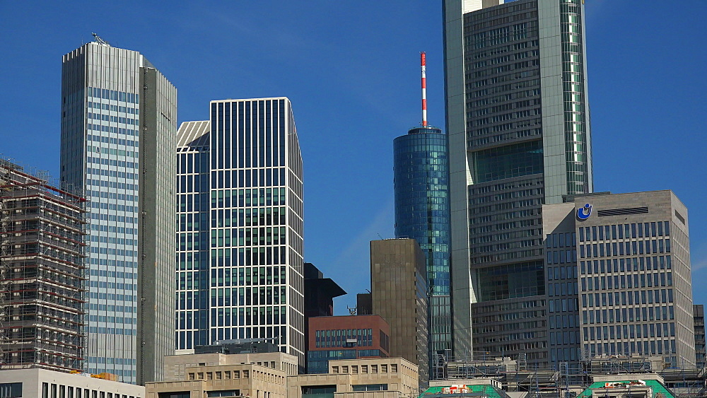 Financial District, Frankfurt am Main, Hesse, Germany