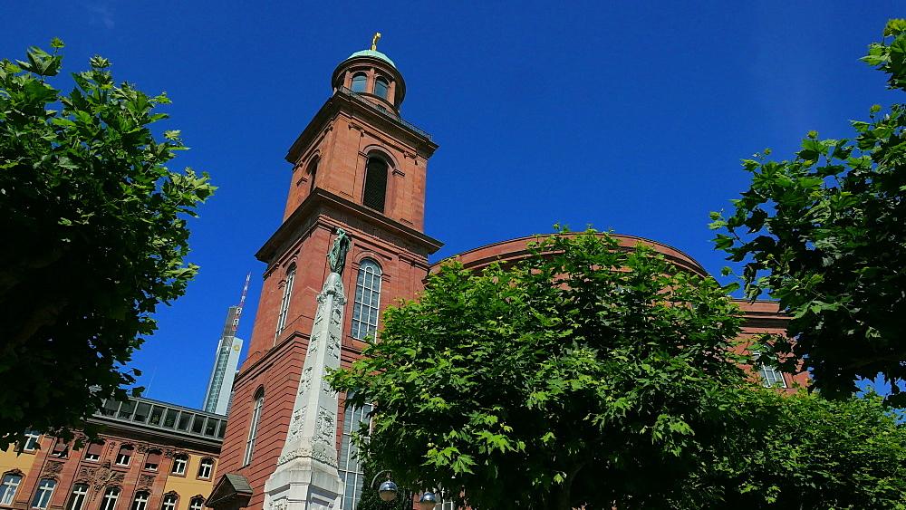 Paulskirche, Paulsplatz , Frankfurt am Main, Hesse, Germany