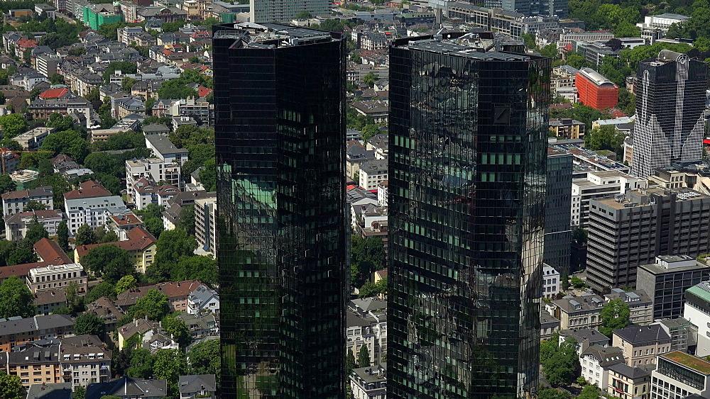 Deutsche Bank Building, Frankfurt am Main, Hesse, Germany
