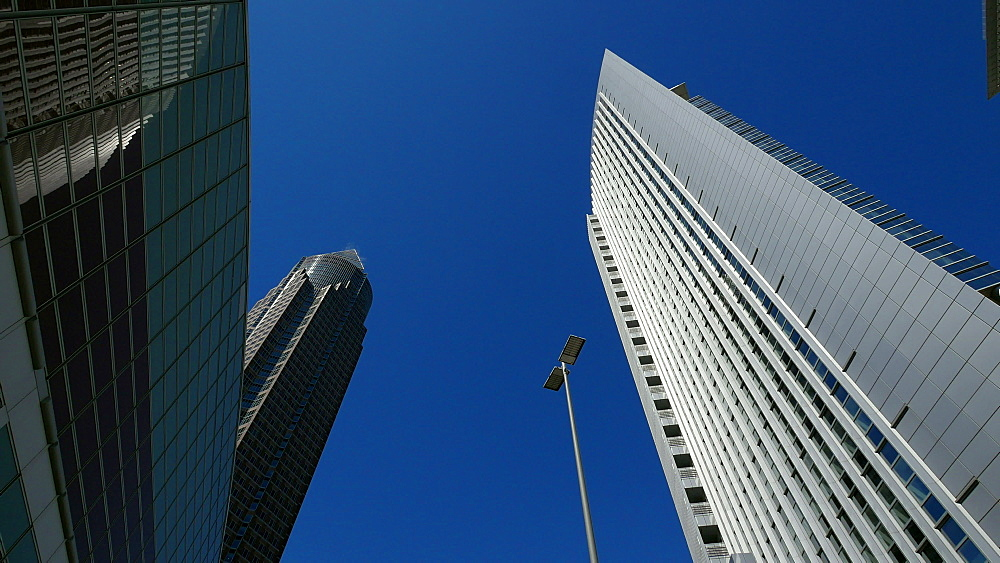 Messeturm, Fair Tower, and KT Bank Building, Frankfurt am Main, Hesse, Germany