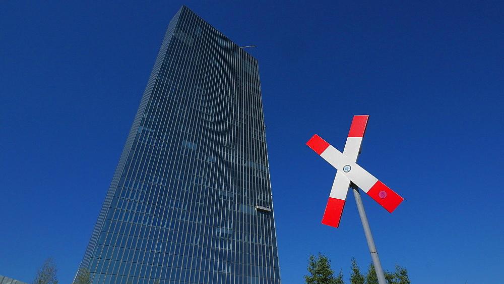European Central Bank, ECB, Frankfurt am Main, Hesse, Germany