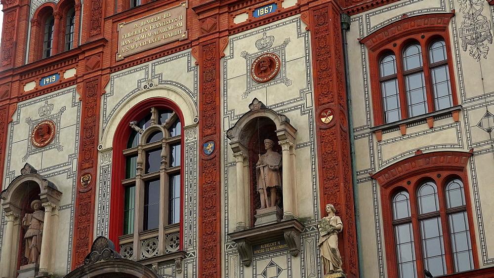 University of Rostock, Mecklenburg-Western Pomerania, Germany