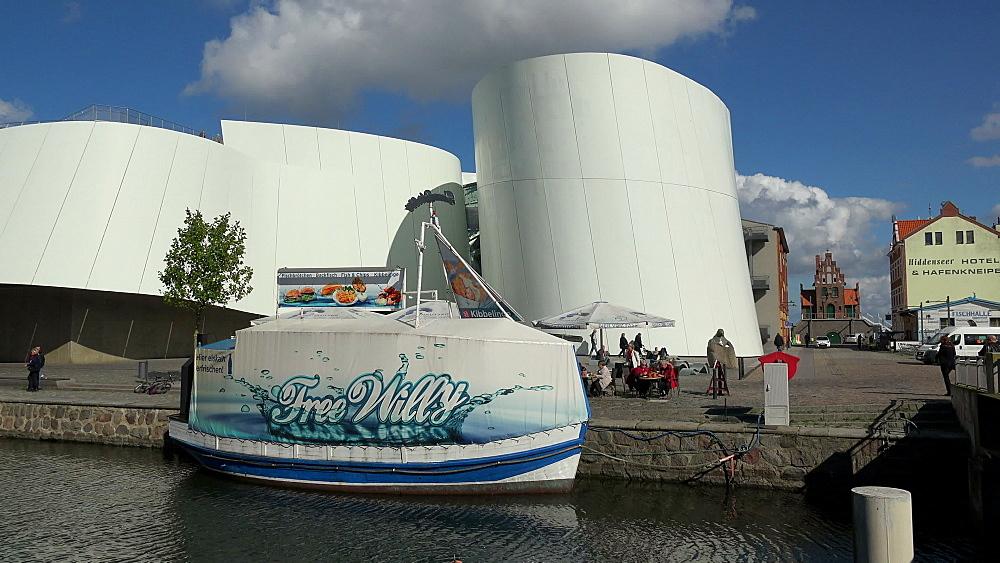 Ozeaneum in Stralsund, Mecklenburg-Western Pomerania, Germany