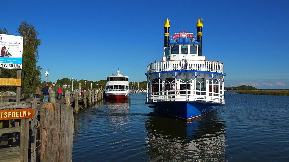 Harbour of Zingst, Fischland-Darss-Zingst, Mecklenburg-Western Pomerania, Germany