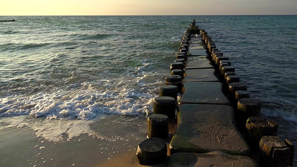 Beach at the Baltic Resort of Ahrenshoop, Fischland-Darss-Zingst, Mecklenburg-Western Pomerania, Germany