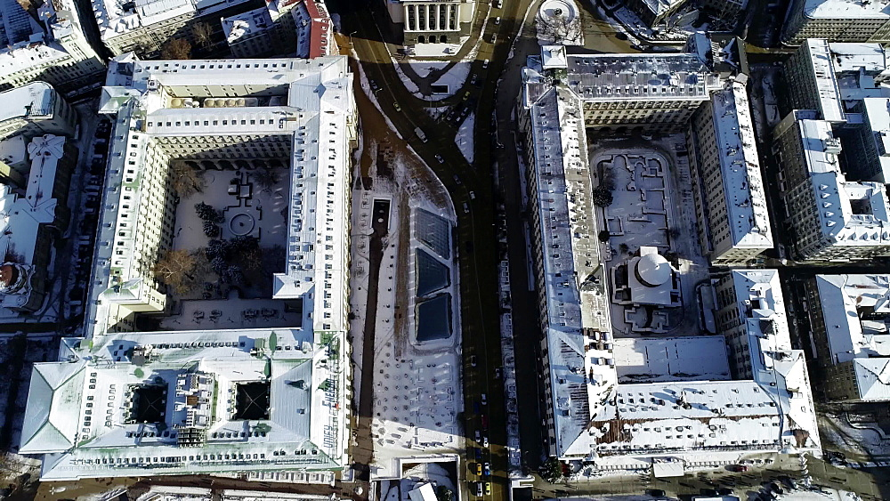 National Assembly building at Serdica, Sofia, Bulgaria, Europe
