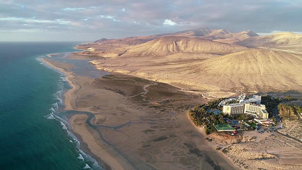 Laguna de Sotovento, Sol Beach House at Melia Hotel, Fuerteventura, Canary Islands, Spain, Atlantic, Europe