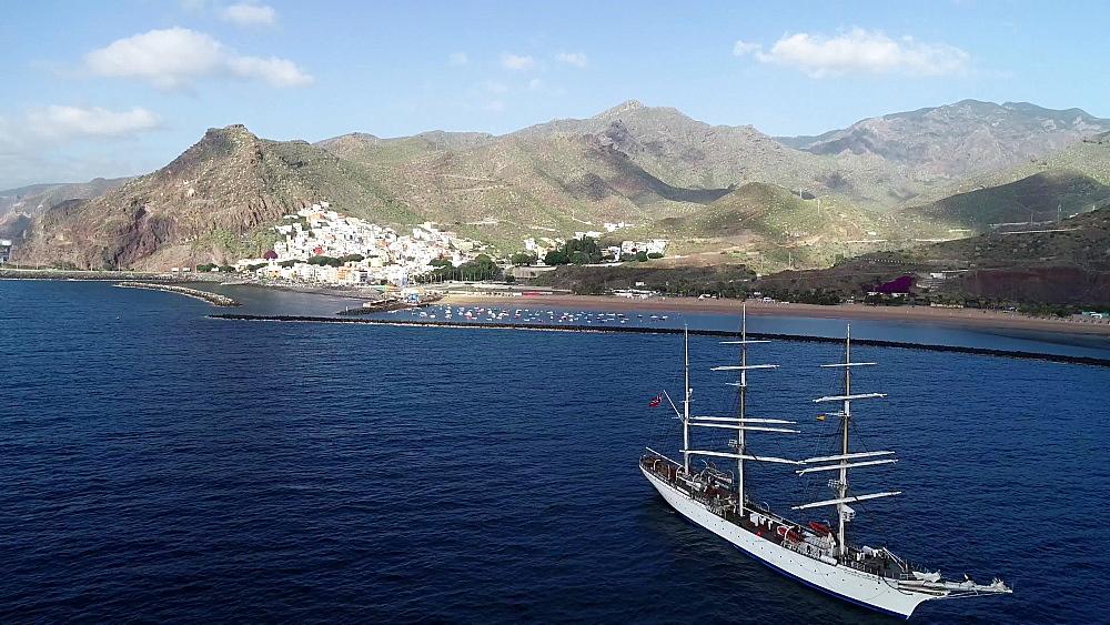 Playa de las Teresitas, Tenerife, Canary Islands, Spain, Atlantic, Europe