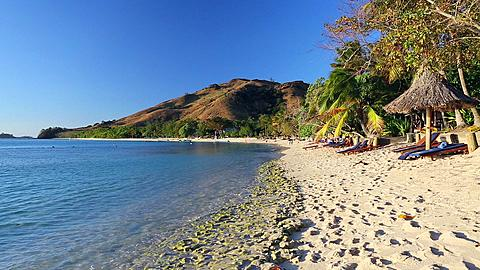 Beach on Nacula Island, Yasawa Islands, Fiji